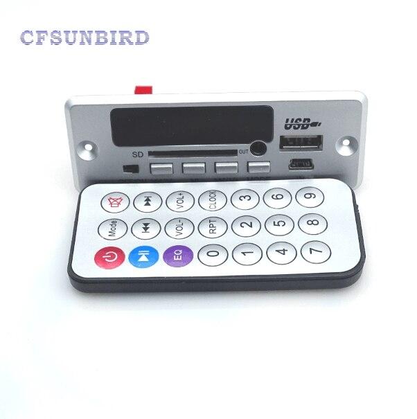 Multi functional bluetooth hands free calls decode board APE MP3 WAV decoder amplifier headset and bluetooth