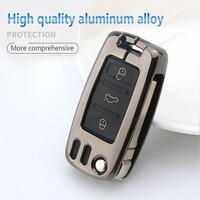 remote key For Skoda Kodiaq Octavia Rapid Fabia Superb Key Case Cover Car Key Shell Storage Bag Protector remote control holder Styling bag (3)
