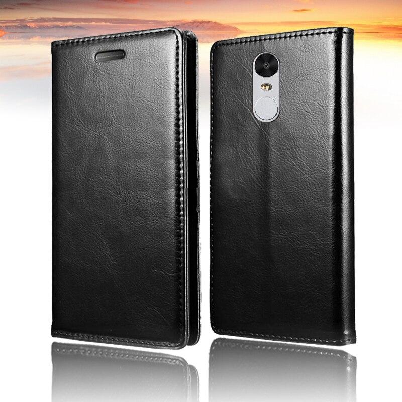 Para Xiaomi Redmi note 4 Flip Case Funda de cuero PU Funda Xiomi - Accesorios y repuestos para celulares - foto 2