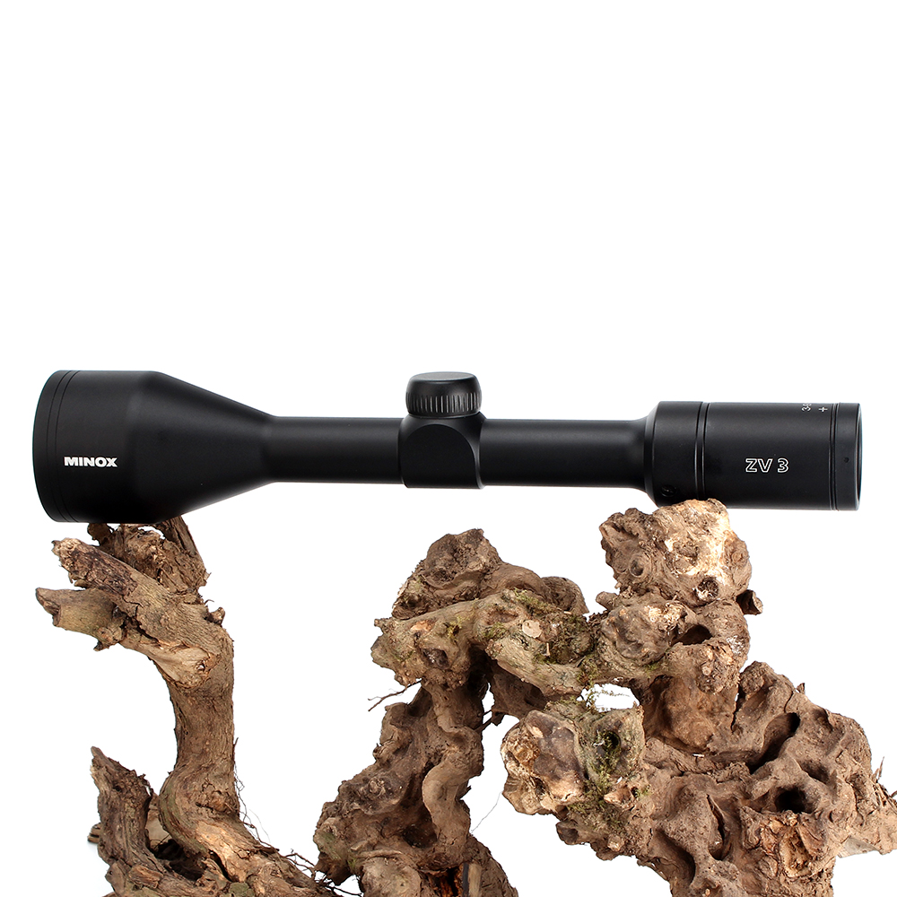 MINOX ZV 3 3 9X50 BDC 400 retícula Rifle de caza alcance 1 pulgada tubo largo ojo alivio táctico mira de Rifle óptico - 6