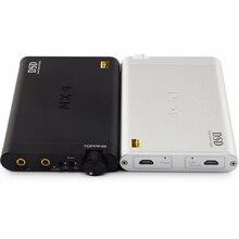 Новый Топпинг nx4 DSD Портативный USB ЦАП DSD декодер Усилители домашние усилитель для наушников xmos-xu208 ЦАП es9038q2m чип Усилители Домашние Черный/Серебряный
