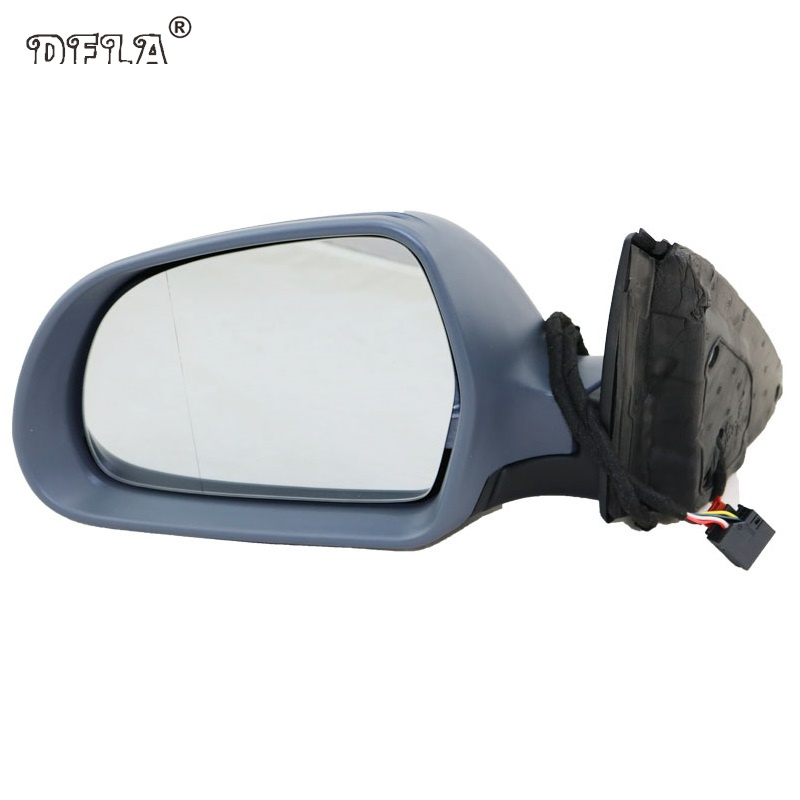 For Skoda Superb 2008 2009 2010 2011 2012 2013 2014 2015 Car-Styling Heated Electric Wing Side Rear Mirror Left Side left brand new outer side rearview mirror cover housing shell for ford fiesta 2009 2010 2011 2012 2013 2014