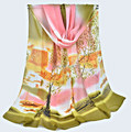 Factory sale Tree print rayon silk spring summer Scarf Women Fashionl mixed color 8pcs/lot #3842