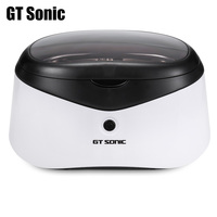 GT Sonic 0.6L Digital Ultrasonic Cleaner Manicure Sterilizer Cleaner Sterilizing Nail Tools Disinfection Machine Wash Bath Tank