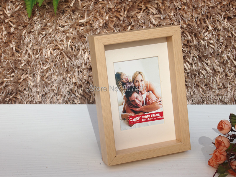 frame box wood picture frame box wood photo frame 5x7inch - Shadow Box Frames