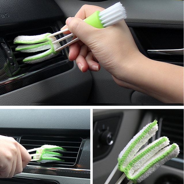 Car Care Cleaning Brush Auto Cleaning Accessories For Peugeot 206 307 406...