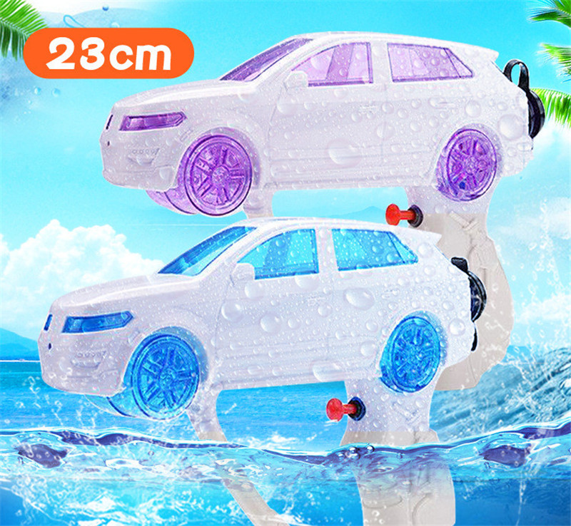 Hot Summer Must-haves Creative Design Car Modeling Water Gun Outdoor Swimming Pool Beach Children Plastic Water Pistol Toys