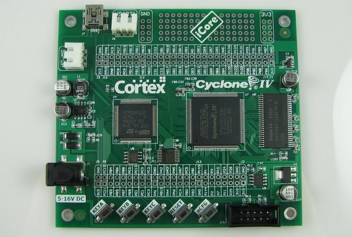 Free Shipping! FPGA + ARM core board STM32 CYCLONE4 FPGA development board module цены онлайн