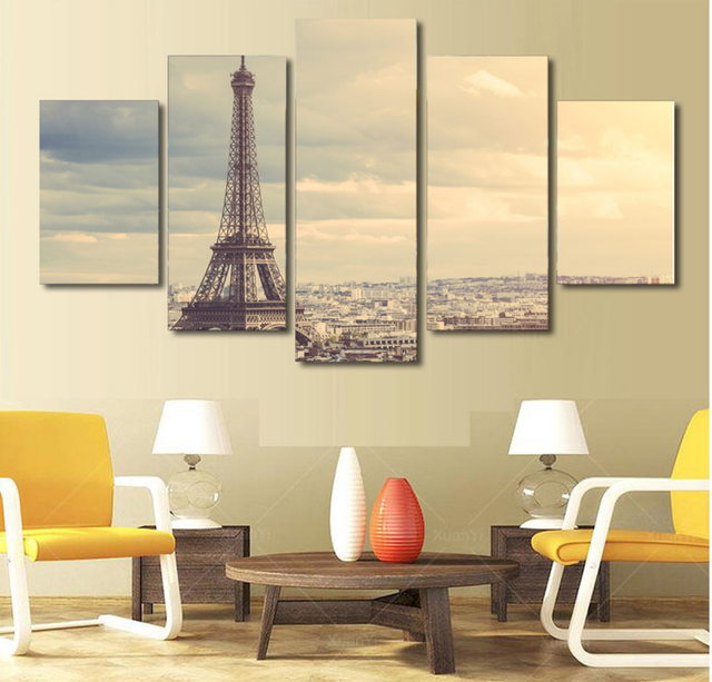 Online Shop Canvas Painting Wall Art Pictures 5 Pieces Cuadros ...