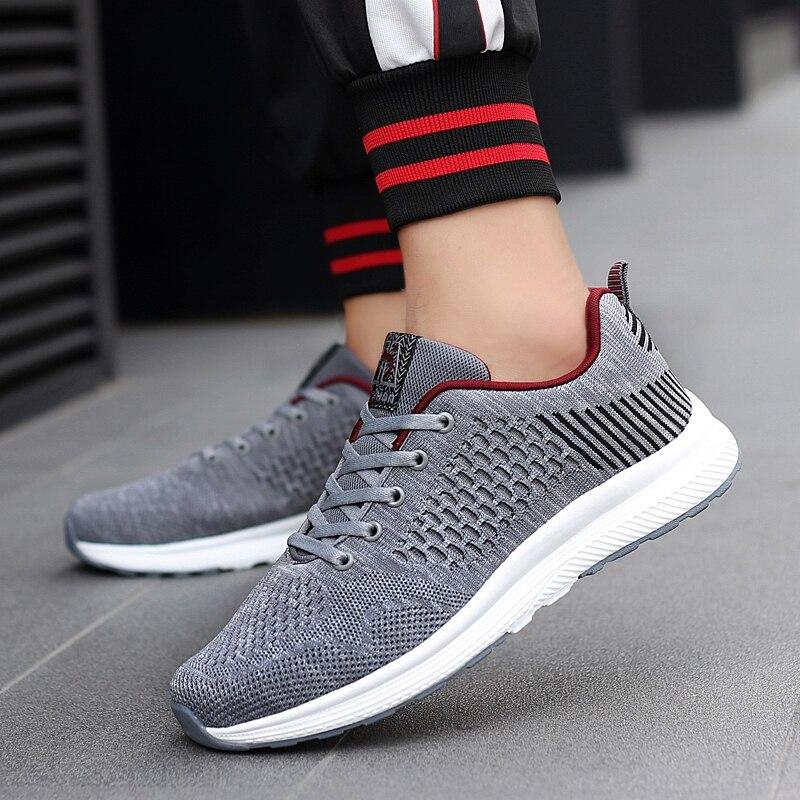 2018 Spring New Men Shoes Trend Men Casual Shoes Breathable Flats Light Shoes Men Fashion Casual Shoes 5 in Men 39 s Casual Shoes from Shoes