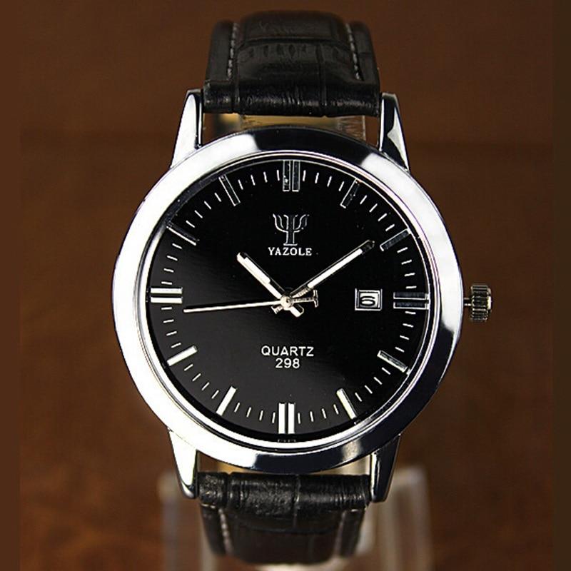 YAZOLE men Watches Luxury brand 2016 Fashion Male Wrist watch men Sport Watch Casual Leather strap
