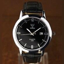 YAZOLE hommes Montres De Luxe marque 2016 De Mode Hommes montre-Bracelet hommes Sport Montre Casual bracelet En Cuir quartz-wach D'affaires montres