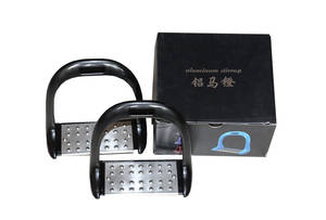 Stirrup Horse-Riding Equestrian with Stainless-Steel Anti-Slip-Pad High-Quality Material
