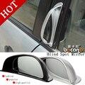 2 Pçs/set Estilo Do Carro Grande Angular Auto Auxiliar Fileira Traseira Anti-Colisão Pontos Cegos Retrovisor Espelho Acessórios do Exterior
