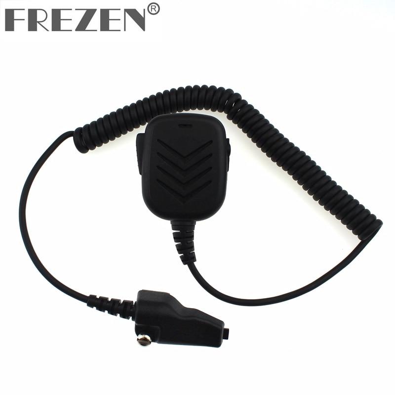 Радио Ручной микрофон высокого качества цифровой микрофон с 3,5 мм аудио разъем для Kenwood TK480/TK3140/TK380/TK285 двухстороннее радио