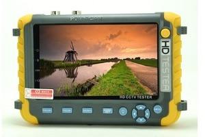 Image 2 - NEW 5 inch TFT LCD  HD 8MP TVI AHD CVI CVBS Analog Security Camera Tester Monitor in One CCTV Tester VGA HDMI Input IV8W