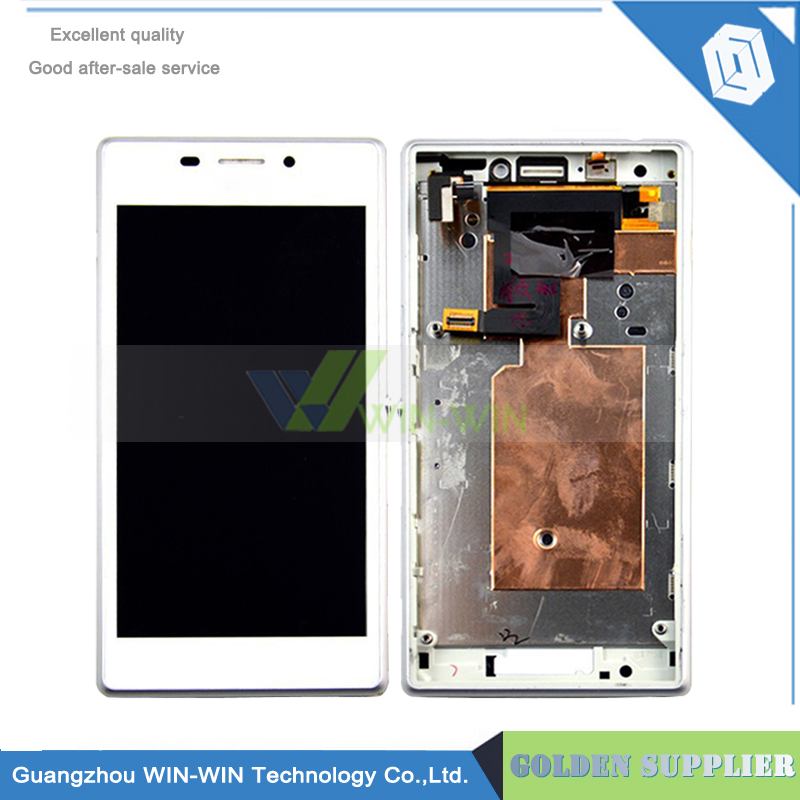 Подробнее о for Sony Xperia M2 S50h D2302 D2303 D2305 Full LCD Display Panel Touch Screen Digitizer Glass Assembly With Frame Replacement for sony xperia arc s lt18i lt18 x12 lcd display screen monitor digitizer touch panel screen glass assembly replacement