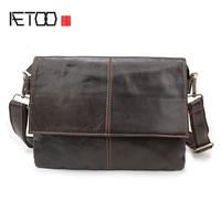 AETOO The New Casual Fashion Leather Men S Shoes Men S Shoulder Messenger Bag Men Holding