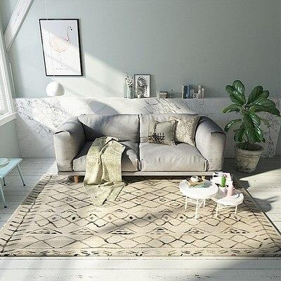 New Arrival Geometric Printed Carpet Anti slip Floor Mat Mandala Boho Print Bathroom Kitchen Door Mat 40x60 Area Rugs Home Decor in Carpet from Home Garden