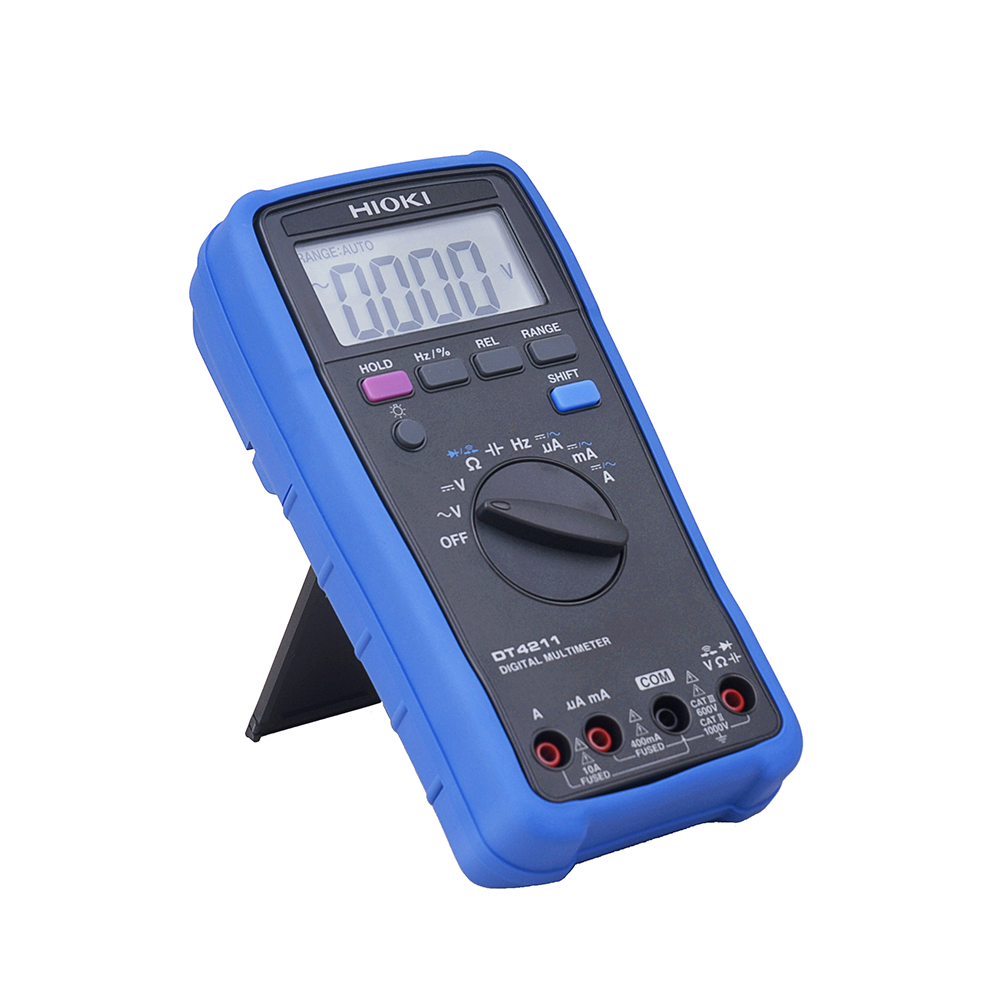 Hioki DT4211 AC DC Voltage Current Digital Multimeter +/ 0.5% Accuracy LCD Backlight Test Meter Brand New-in Multimeters from Tools    1