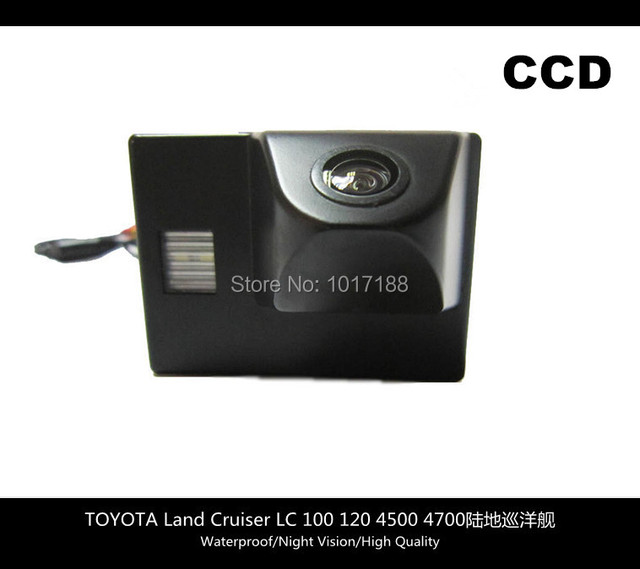 car camera!! Car Rear View Parking CCD Camera For TOYOTA Land Cruiser LC 100 120 4500 4700