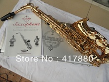 The factory wholesale Students suzuki alto saxophone for surface electrophoresis paint gold