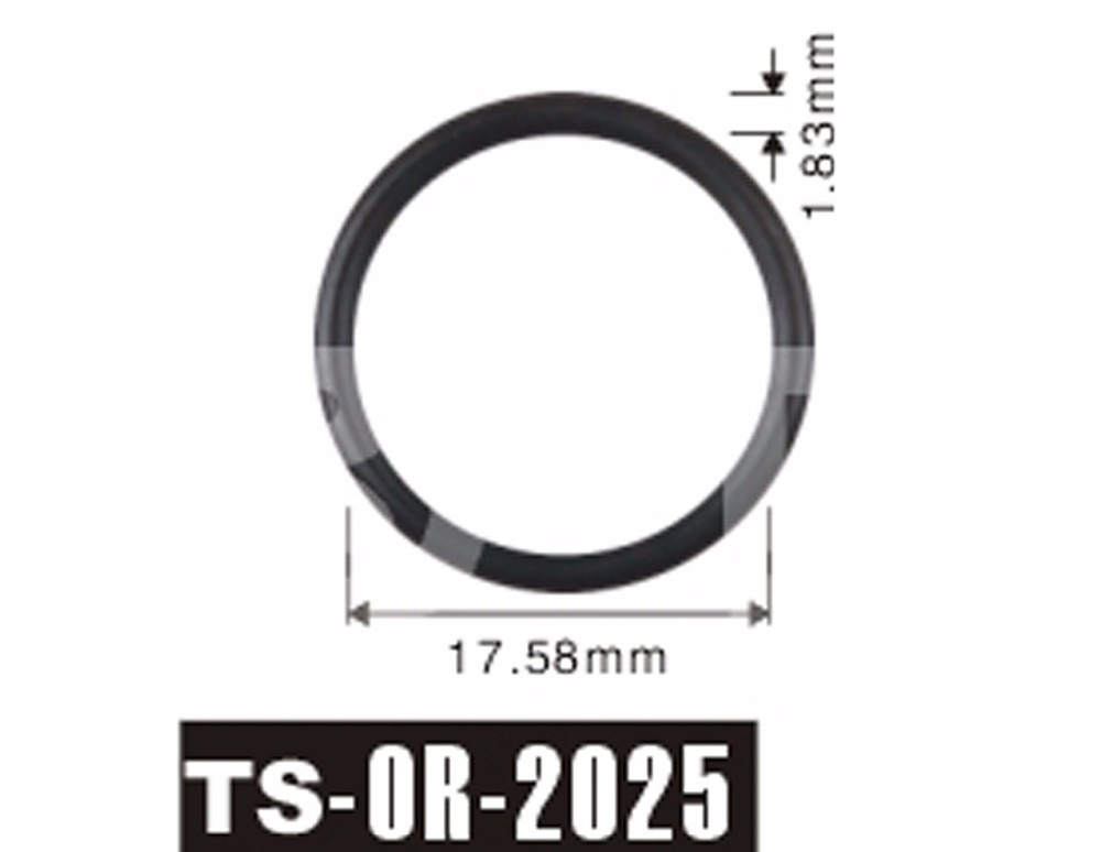 Free shipping Tenso 500pcs 17.58x1.83 mm fuel injector viton rubber ...