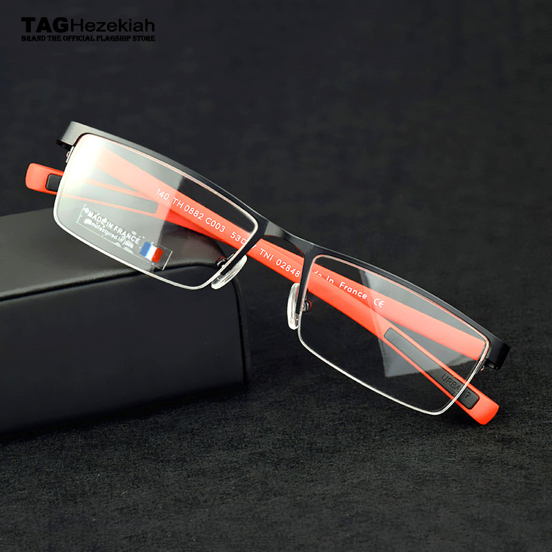TAG Glasses Frame Men Goggles Myopia Computer Spectacles Eye Glasses Frames For Men Oculos De Grau Optical Glasses Metal Nerd