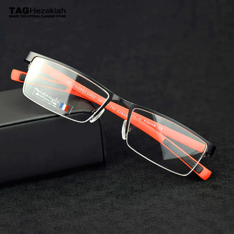 TAG glasses frame men Goggles myopia computer spectacles eye glasses frames for men oculos de grau optical glasses Metal nerd