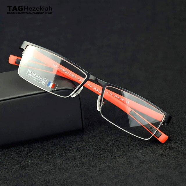 TAG glasses frame men Goggles myopia computer spectacles eye glasses frames  for men oculos de grau optical glasses Metal nerd 3a5560f934