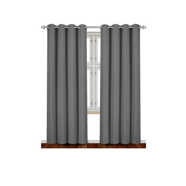 Moderne 2 Stücke Einfarbig Blackout Vorhänge Für Wohnzimmer Küche  Schlafzimmer Hotels Fenster Stoff Vorhänge Fenster Dekoration