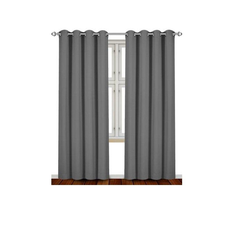 aliexpress.com : acquista moderno 2 pezzi di colore solido tende ... - Colori Per Soggiorno Moderno 2