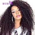 Peruvian Kinky Curly Virgin Hair Bundles Queen Hair Products Peruvian Curly Hair 4 Bundles Curly Weave Human Hair Extensions