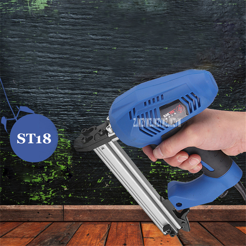 New Electric ST18 Steel Nail Gun Woodworking Tools Dual-use Steel Nail Gun Automatic Screwdriver Cement Gun 1800W 220-240v 50HZ