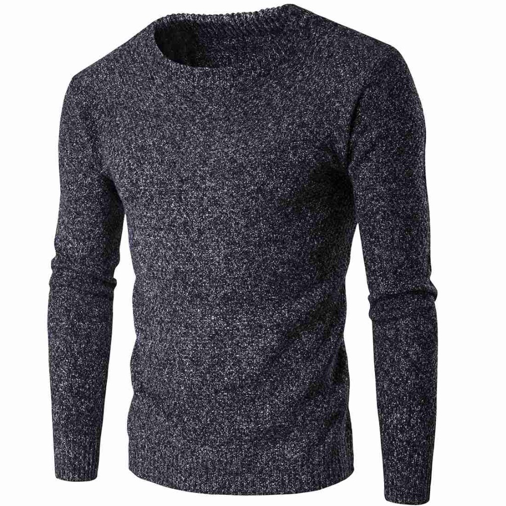 8008 2018 Warm Winter sweater men Coarse Wool Thick sweater for men Pull  homme marque f53a4b31bd88