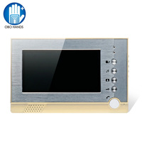7 TFT LCD Color Screen Video Door Bell Intercom System Photograph Indoor Monitor Unit Insert SD