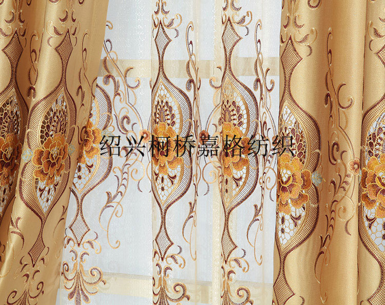 Free Shipping Luxury European Embroidered Voile Curtains Living Room Sheer  Curtains For Bedroom Christmas Window Curtains Cheap In Curtains From Home  ...