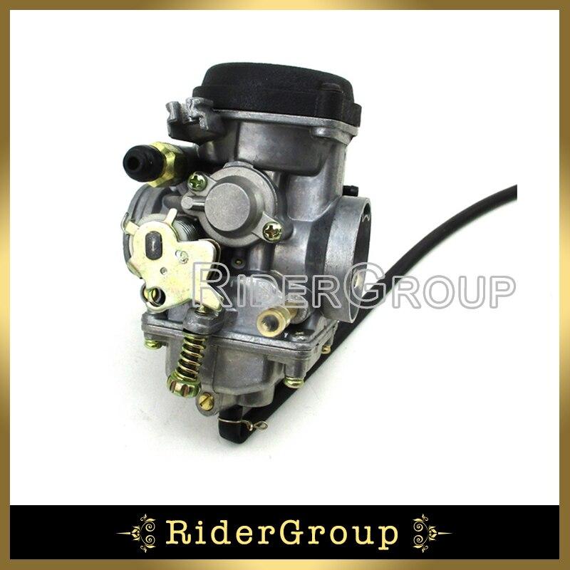 Carburador Atv 30mm 250cc Para Jianshe Js250 Tanque De León De Montaña Jetmoto Roketa Baja 250 Camino Salvaje 4 Quads Ruedas Bicicleta