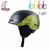 2018 Moon Ski Helmet Ultralight Integrally Molded Professional SNOW HELMET Men Skateboard