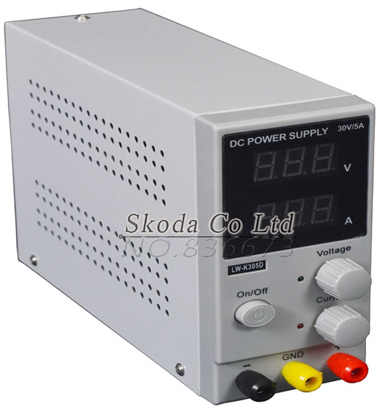 DHL send LW K305D Mini Switching Regulated Adjustable DC Power ...