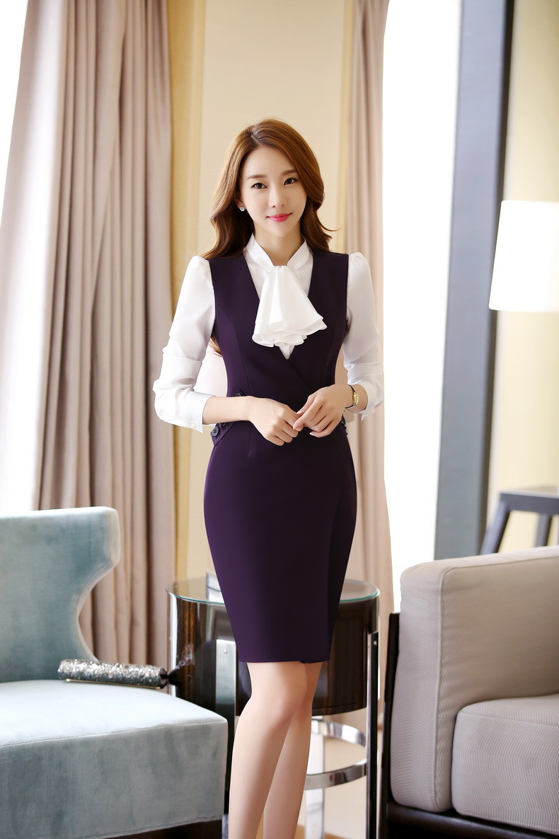 New-Arrival-2016-Spring-Autumn-Formal-OL-Styles-Professional-Business-Women-Work-Suits-With-Blouses-And (4)