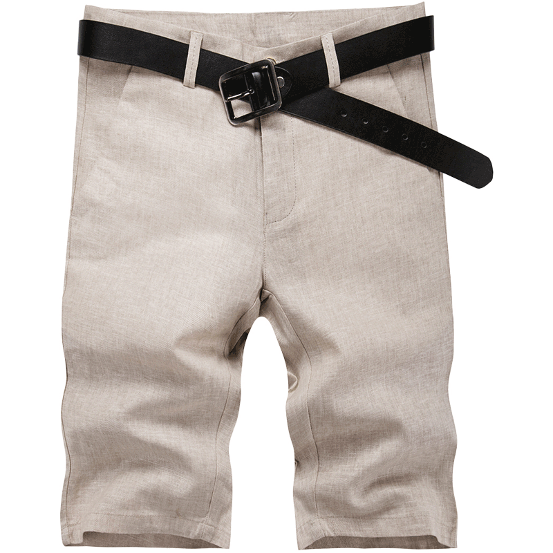 Hot Mens Shorts Summer Lattice Leisure Wide Sport Plaid Slim Pants Large Size