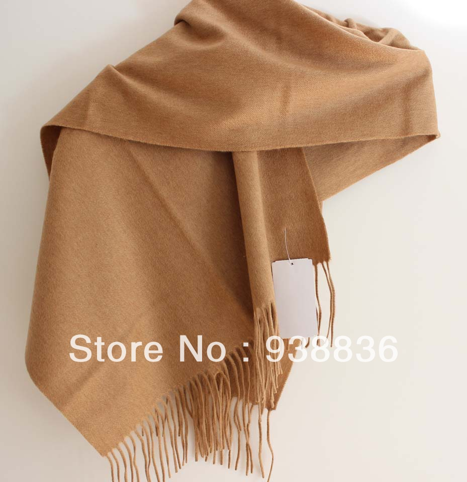 778f29285 Light tan 100% Water Ripples Cashmere Shawl Scarf-in Men's Costumes ...