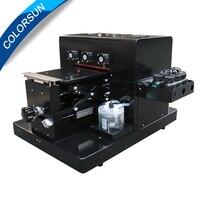 Бесплатная доставка A4 размер УФ принтер светодио дный планшетный принтер для чехол для телефона принтер, деревянные, кожа, ABS, ТПУ, T shirt.pen, ст
