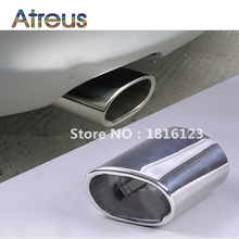 1pcs High quality Stainless Steel Car Exhaust Muffler Tip Pipes for BMW E90 E91 E92 E93 318i 318d New Auto Accessories