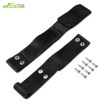 Booms Fishing RS2 Rod Secure Saver 10 & 6, Tamer Deck Mount Straps for Marine