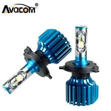 Avacom H7 светодиодные лампы LED автомобилей лампы H1 H4 H11 H15 9005 9006 9012 фары автомобиля 72 Вт 12000LM 6500 К 12 В IP67 светодиодный фонарь