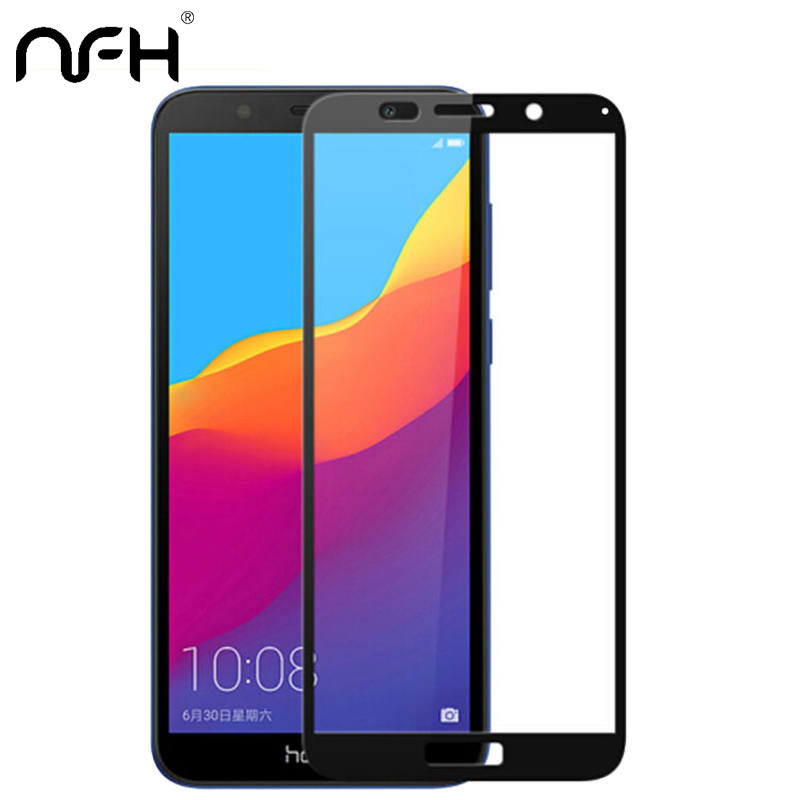 NFH Protective-Glass Screen-Protector DUA-L22 Russian-Version Huawei Honor for 7A 3D
