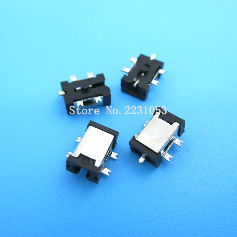 цены 10PCS/LOT 0.7mm DC-057 SMD Tablet PC Charge DC Power Jack DC Connector DC057