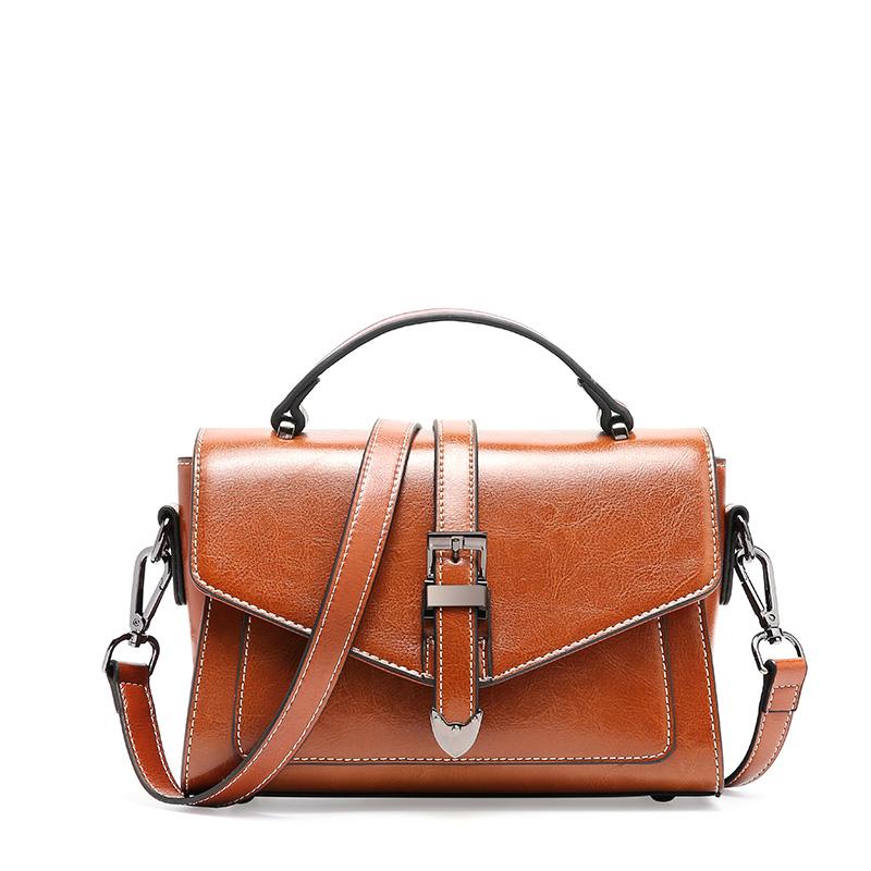 Crossbody Bags For Women 2019 Shoulder Bags Female Vintage Leather Bags Women Handbags Famous Brand Rivet Small Ladies